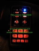 路虎览胜安装美国VS Signal V7系列V72 (V7-2)600W无线遥控警报器图集-长凯先锋独家销售