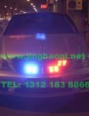 奔驰S65安装美国VS SIGNAL 警报器及多套中网爆闪灯警灯