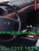 奔驰S500安装美国VS SIGNAL V7-1警报器