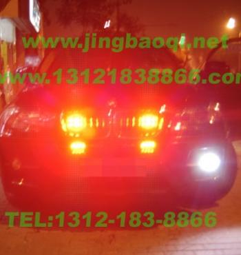 BMW X6-安装VS SIGNAL V82 600W警报器及12只GL300中网灯S201螺旋管爆闪灯